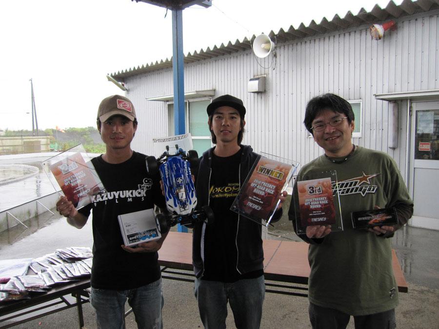 TRESREY OFF‐ROAD RACE ROUND‐3 レポート 鶴田絢史_e0166663_10404974.jpg