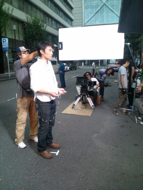 【BOSE】CF出演中(^-^)v☆…撮影メーキングの模様▼_b0032617_12465125.jpg