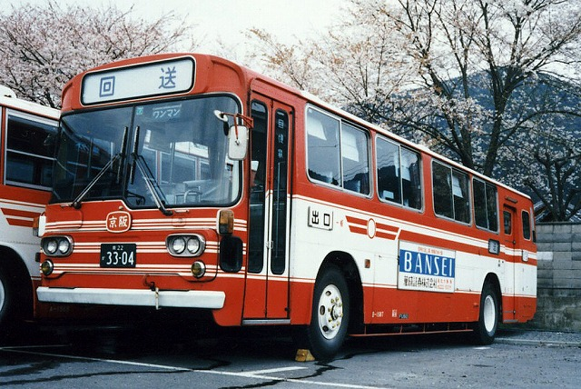 京阪バス~懐かしいBタイプ~_a0164734_19553075.jpg