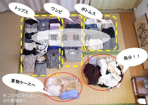 衣替え と 手持ち服の見直し_c0199166_0123053.jpg