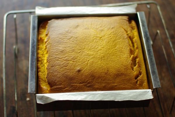 カボチャのチーズケーキを作る_c0110869_21243912.jpg