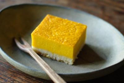 カボチャのチーズケーキを作る_c0110869_21245424.jpg