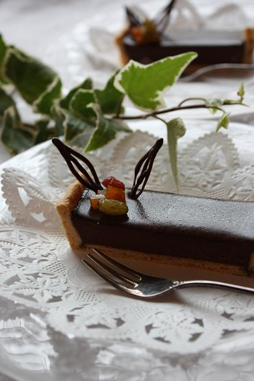 Tarte au chocolate_c0174043_8295311.jpg