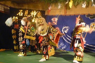 秋祭り・石見神楽_d0087595_22255336.jpg