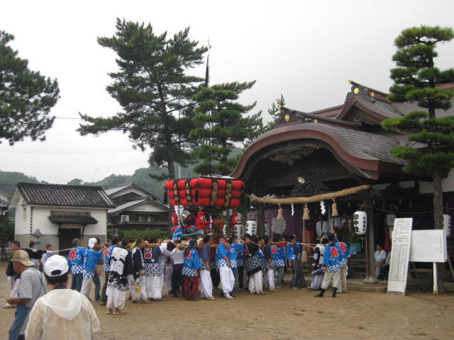 玉島~寄島大浦神社秋祭りへ_f0197703_13484693.jpg