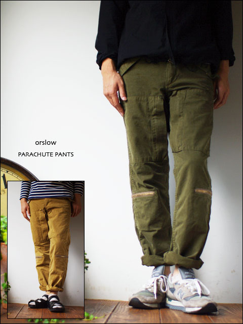 orslow[オアスロウ] PARACHUTE PANTS [weater cloth] MEN\'S_f0051306_1658384.jpg