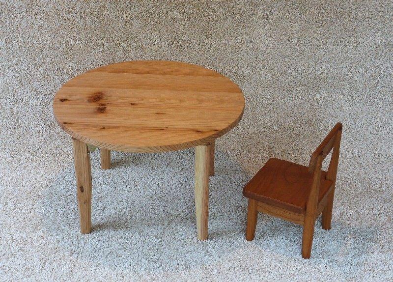 丸テーブル、杉_c0138410_16324583.jpg