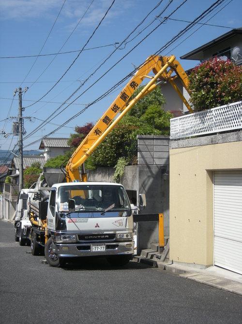 T様邸ウォールエクステリアおよびコンクリート打設工事_d0125228_16184253.jpg