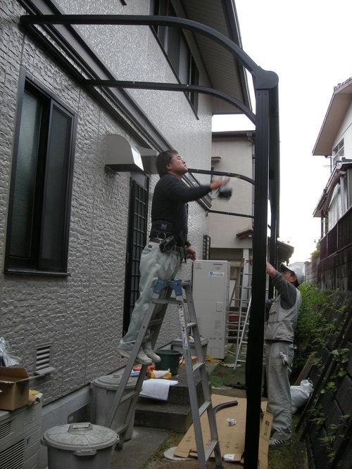 T様邸ウォールエクステリアおよびコンクリート打設工事_d0125228_1619170.jpg