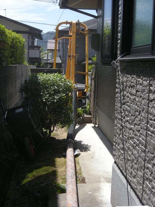 T様邸ウォールエクステリアおよびコンクリート打設工事_d0125228_1619252.jpg