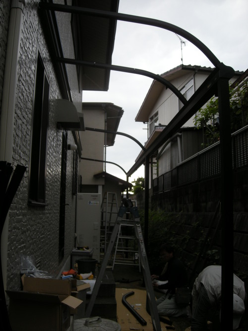 T様邸ウォールエクステリアおよびコンクリート打設工事_d0125228_1619720.jpg
