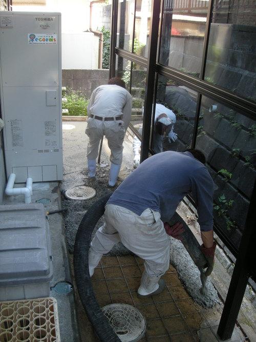 T様邸ウォールエクステリアおよびコンクリート打設工事_d0125228_1620327.jpg