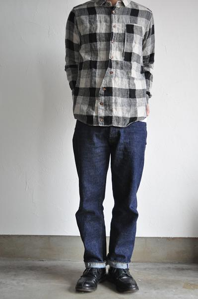 Ordinary fits/オーディナリーフィッツ Linen Check Shirt
