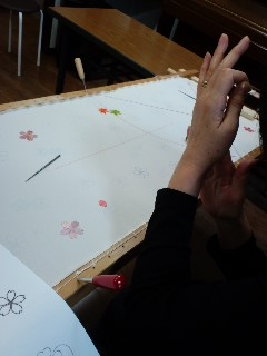 2回目の体験会(日本刺繍)_f0180576_10284628.jpg