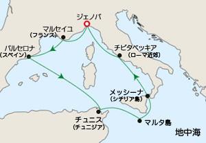 地中海クルーズ1日目「イタリア・ジェノヴァからの出発」 _e0030586_19594556.jpg