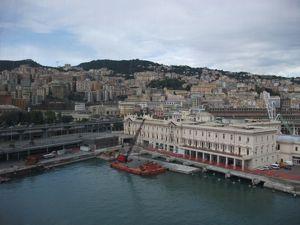 地中海クルーズ1日目「イタリア・ジェノヴァからの出発」 _e0030586_19594613.jpg