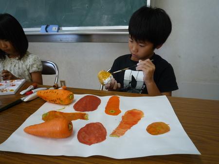 長尾教室〜ねんどの野菜_f0215199_15475287.jpg