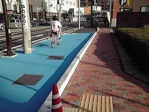 自転車通行レーン_d0050503_20534075.jpg