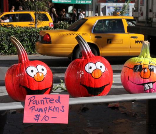 秋の深まってきたニューヨークの青空市場の様子_b0007805_23583127.jpg
