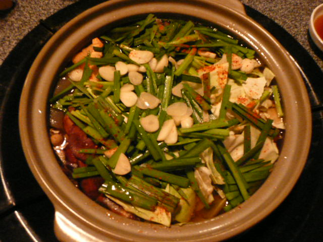 「もつ鍋」を食べました♪_f0099147_22412119.jpg