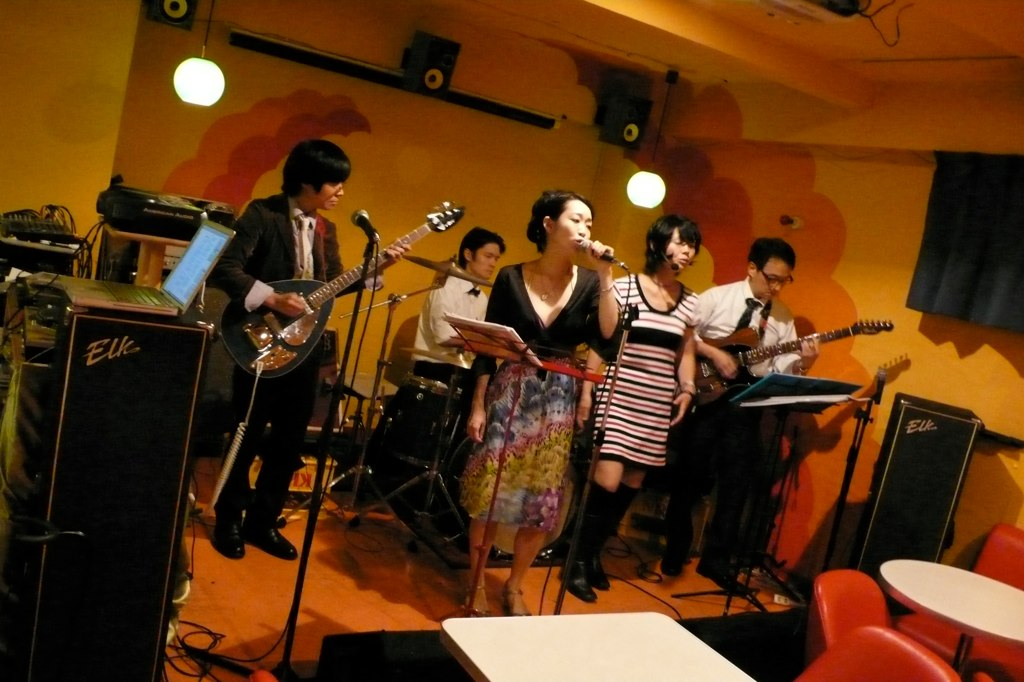 Rieko & The Secrets Live @ greenapple 高円寺_f0002755_22395521.jpg