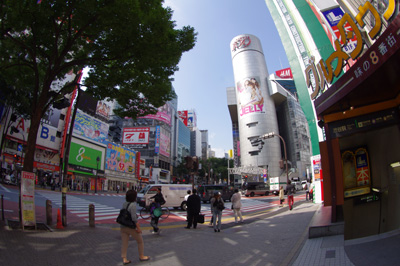 10月5日(火)今日の渋谷109前交差点_b0056983_14555397.jpg