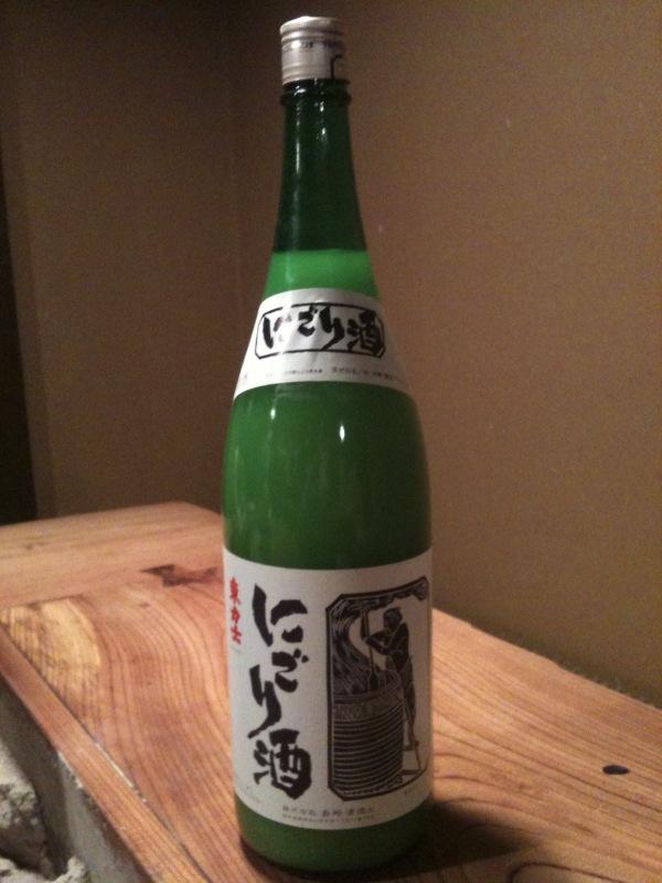 東力士 にごり酒_b0162386_1565881.jpg
