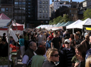 秋の深まってきたニューヨークの青空市場の様子_b0007805_015742.jpg