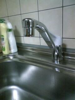 兵庫区 N様邸 キッチン水栓(シングルレバー)取替_e0184941_11173910.jpg