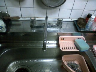 灘区 T様邸 キッチン水栓(シングルレバー)取替_e0184941_11281853.jpg