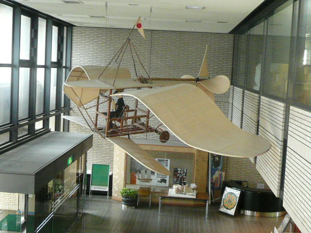 二宮忠八の玉虫型飛行器_f0099147_23425247.jpg