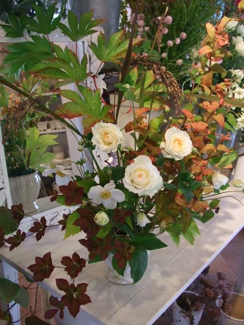 オークリーフ花の教室(松崎さんの作品)_f0049672_13532675.jpg
