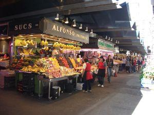 地中海クルーズ3日目 バルセロナ・サンジョセップ市場_e0030586_1834299.jpg