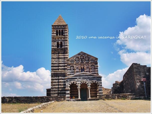 12世紀の教会@サルデニア La Basilica della Santissima Trinita\' di Saccargia_f0229410_1533581.jpg