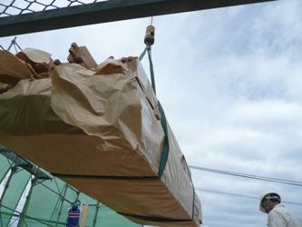 福岡市東区三苫にて 上棟レポート ~2階を建てる_b0112371_20325340.jpg