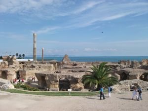 地中海クルーズ4日目 チュニジア・カルタゴの遺跡&青の町_e0030586_23531246.jpg