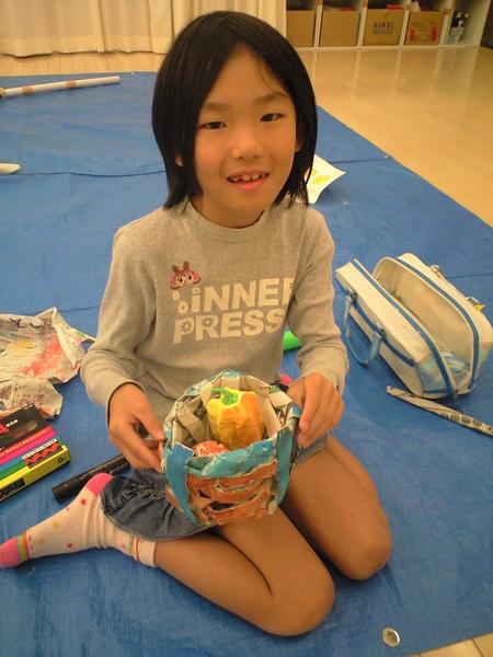松井山手教室~野菜かご作り~_f0215199_12201145.jpg