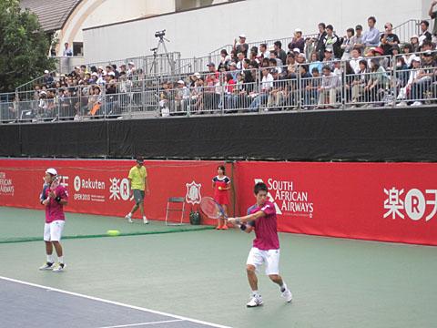 ジャパンオープンテニスに行ってきました_a0151444_10474662.jpg