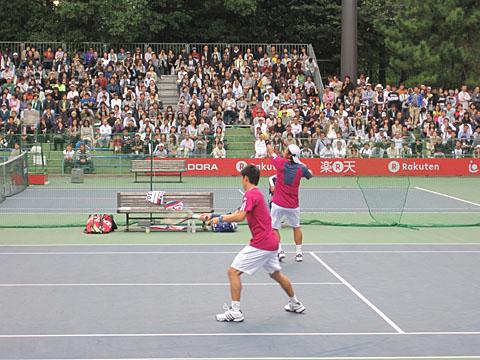 ジャパンオープンテニスに行ってきました_a0151444_1048622.jpg