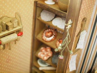 miniature*パン屋さん完成_e0172847_14462293.jpg