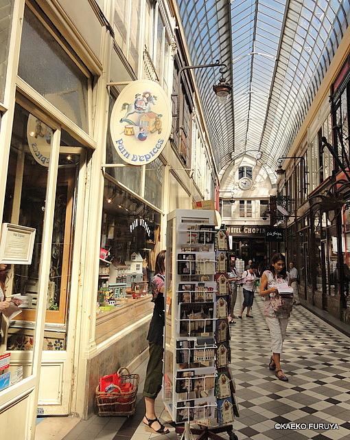 パリ パッサージュ巡り Ⅱ_a0092659_2224491.jpg