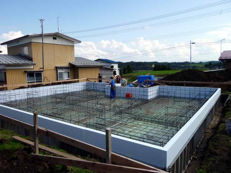 「雄物川町大沢の家」 基礎配筋検査_f0150893_20304357.jpg