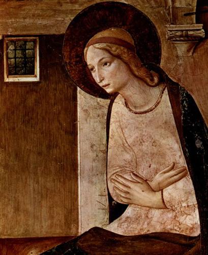 あるフレスコ画~サンマルコ国立美術館フラ・アンジェリコ作「受胎告知」_f0106597_23541340.jpg