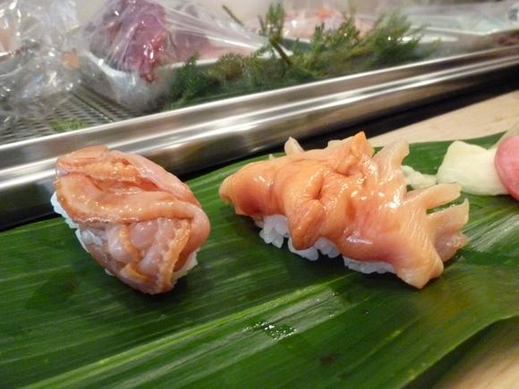 今回初めての寿司、至福!_c0180686_16111854.jpg