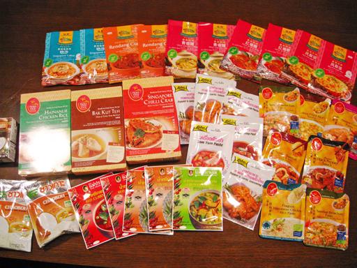 タイ・シンガポール料理の素