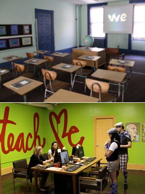 廃校になった小学校を使ったNYの大アート・イベント RE:FORM SCHOOL_b0007805_23462441.jpg
