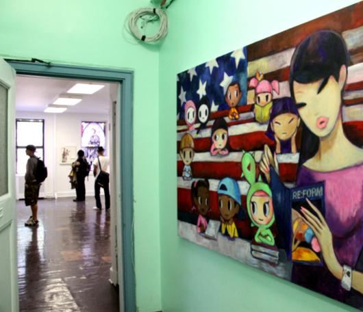 廃校になった小学校を使ったNYの大アート・イベント RE:FORM SCHOOL_b0007805_23474938.jpg