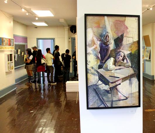 廃校になった小学校を使ったNYの大アート・イベント RE:FORM SCHOOL_b0007805_23483911.jpg
