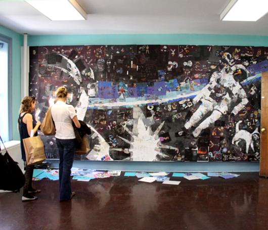 廃校になった小学校を使ったNYの大アート・イベント RE:FORM SCHOOL_b0007805_23485281.jpg
