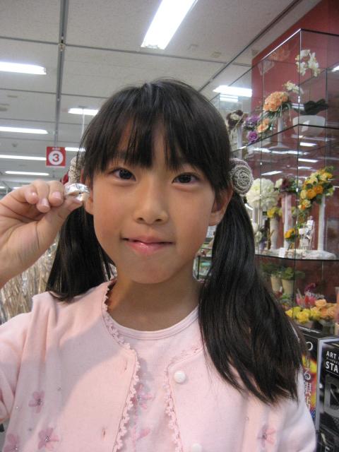 アートクレイシルバーの体験会~東急ハンズ名古屋駅店~_e0095418_1011753.jpg